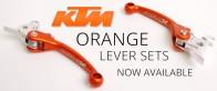 KTM Orange Levers
